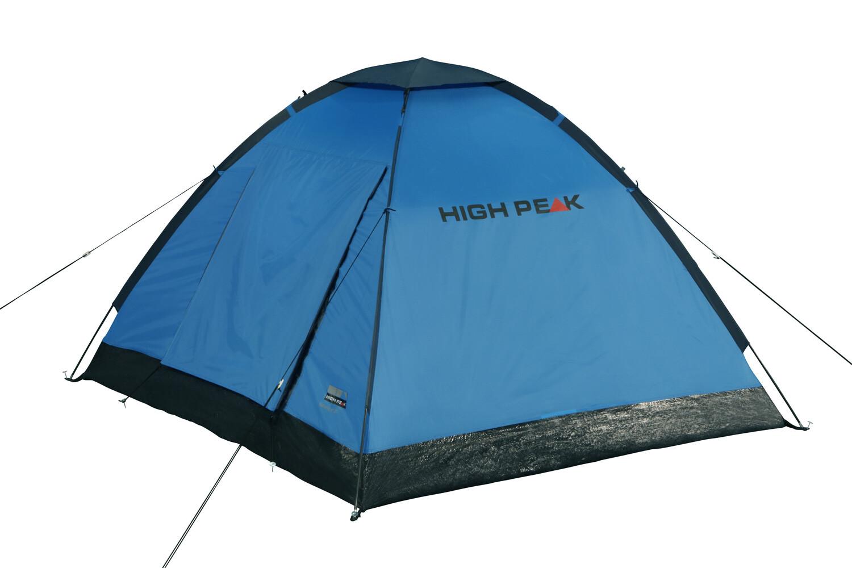 High Peak Kingston 3 Tenda, bluegrey su Addnature
